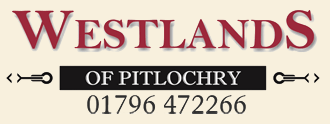 Westlands Hotel B&B Pitlochry top logo